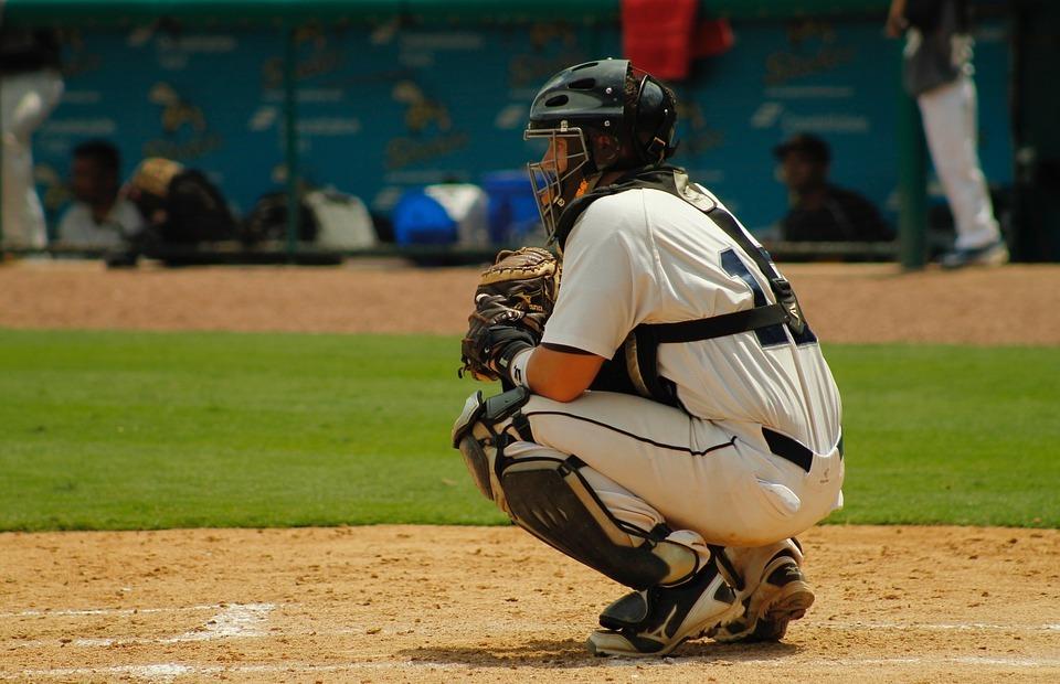 baseball, catcher, adult baseball