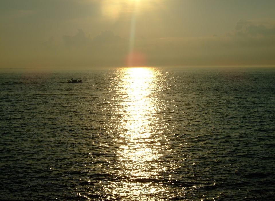 korea, jeju, sunset