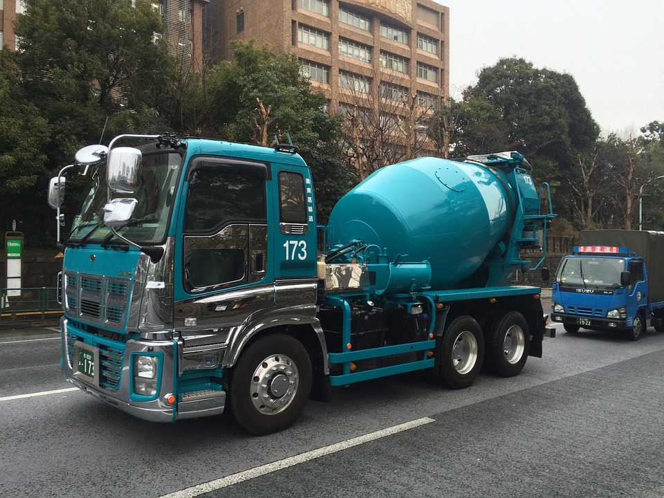 truck, stirrer, of