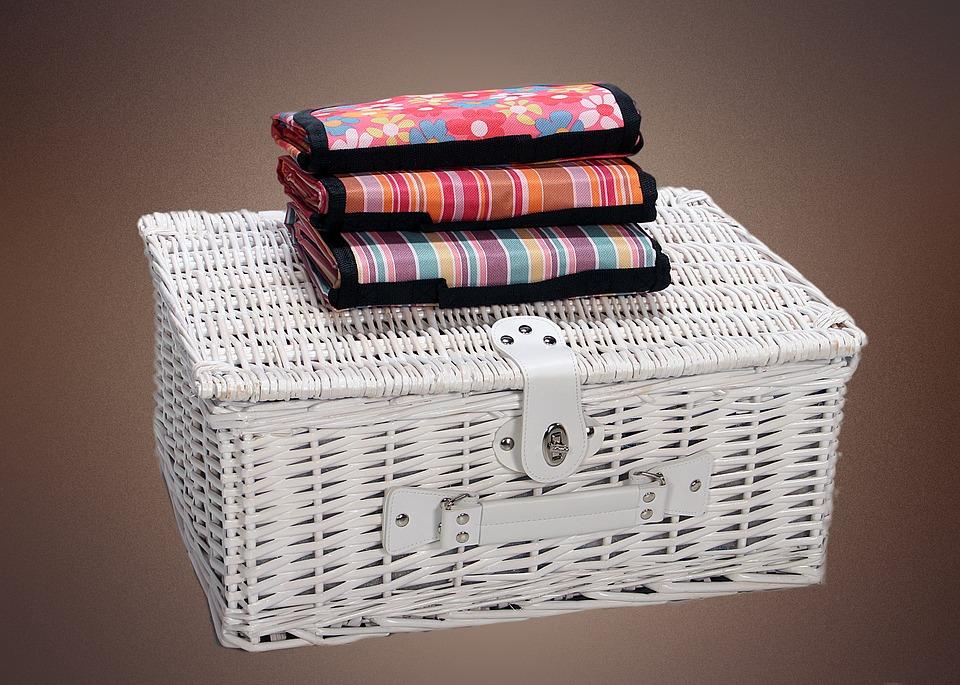 picnic, picnic basket, summer