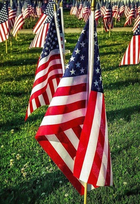 flags, american, american flags