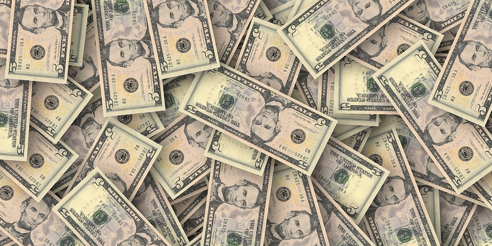 dollar, money, cash