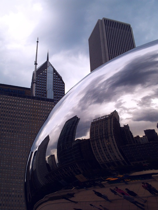 the bean, chicago, tourist attraction