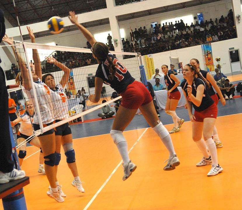 volleyball, women, team