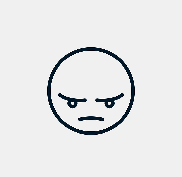 angry, nervous, icon