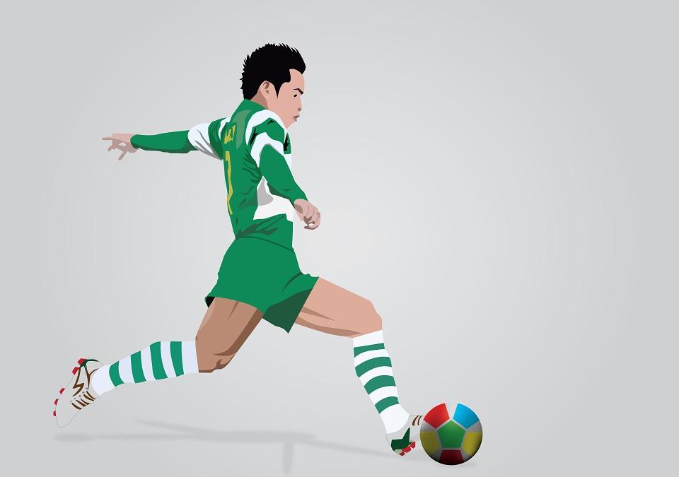 sport, football, shot