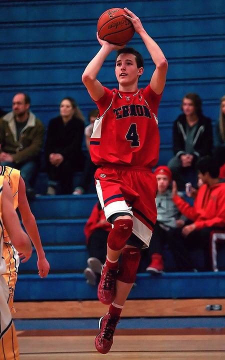 basketball, basketball player, gym