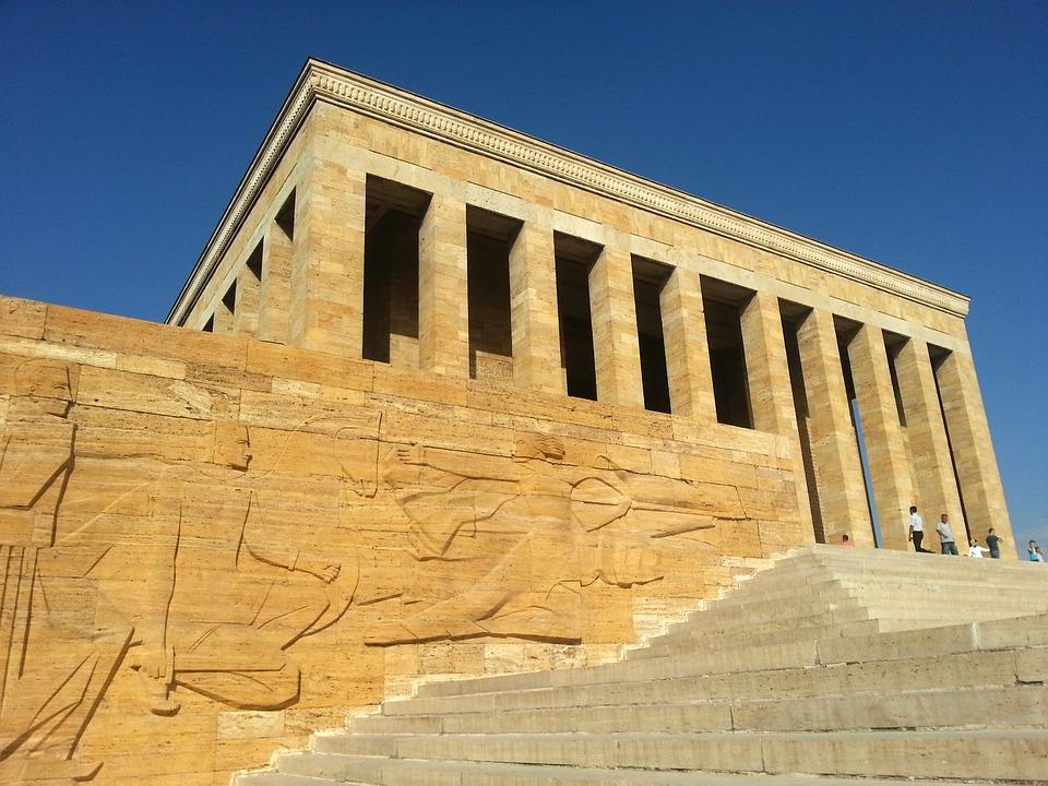 atatürk, mausoleum, relief