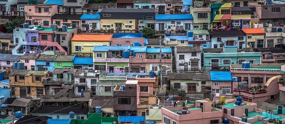 republic of korea, busan, building