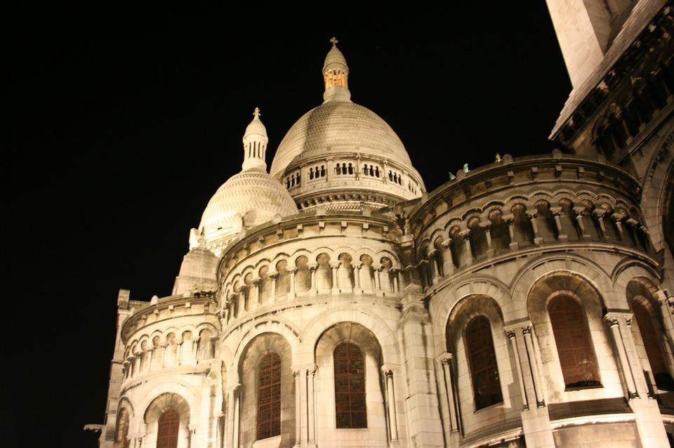 sacre coeur, catholic church, paris