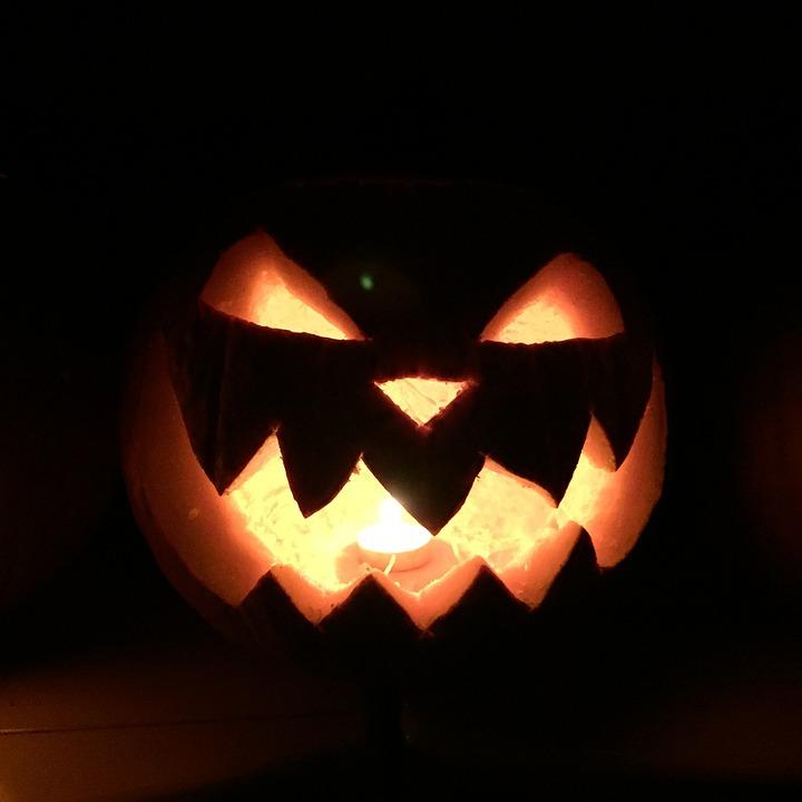 pumpkin, spooky, halloween