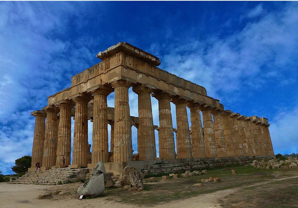 architecture, temple, greek