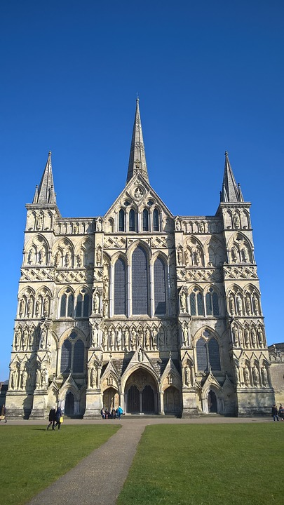 cathedral, salisbury, gothic