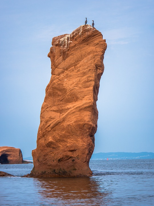 canada, bay of fundy, water