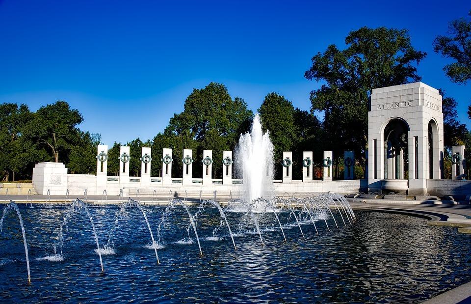 world war ii memorial, washington dc, c