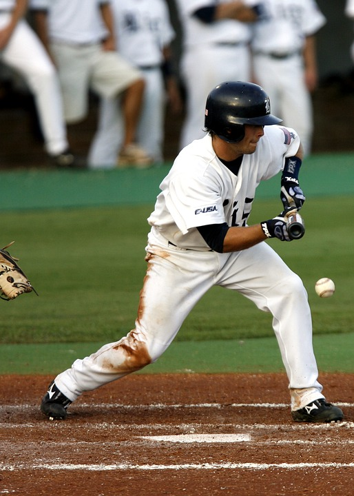 baseball, college baseball, bunt