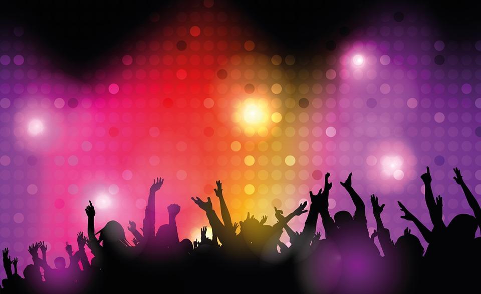 dance club, disco, lighting