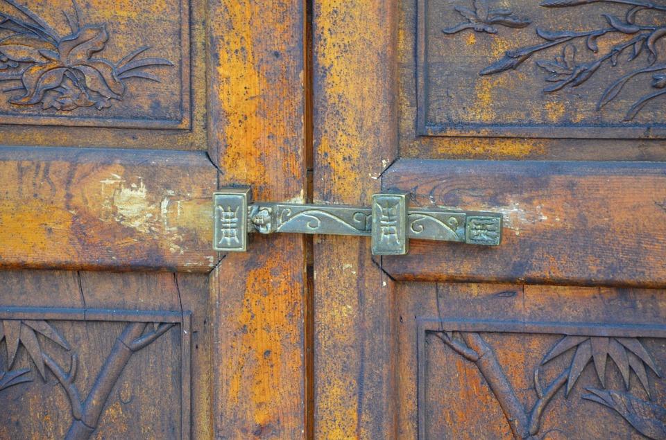 lock, etching, antiquity