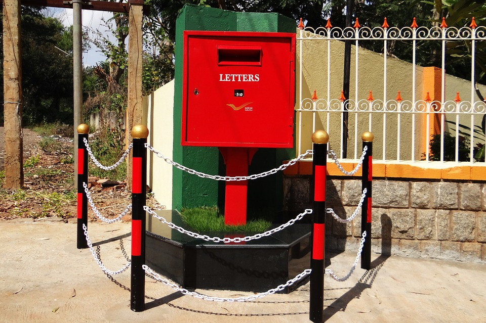 letter box, post box, tv type
