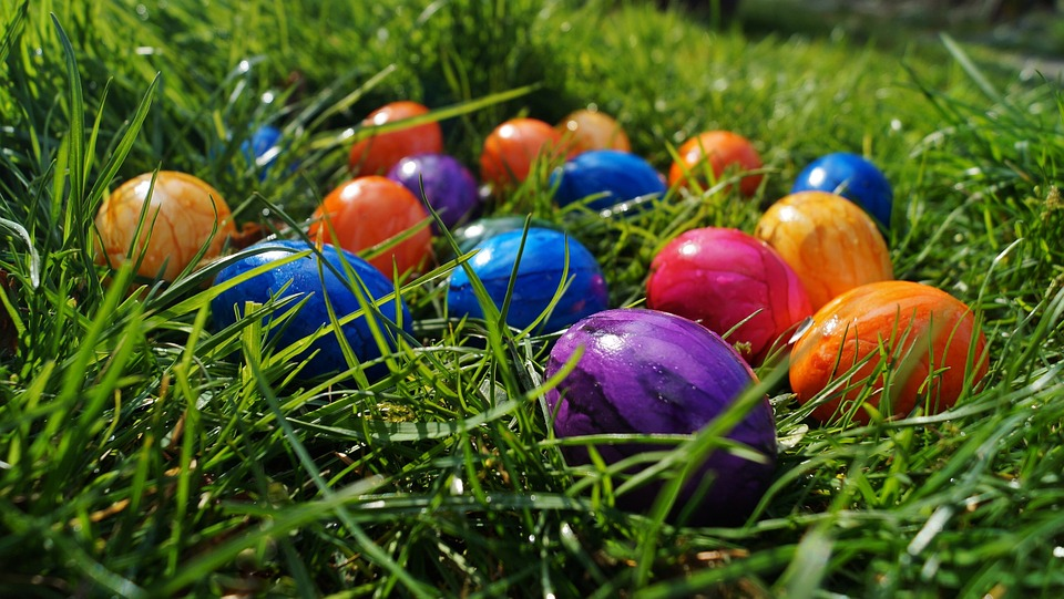 easter, eggs, color eggs