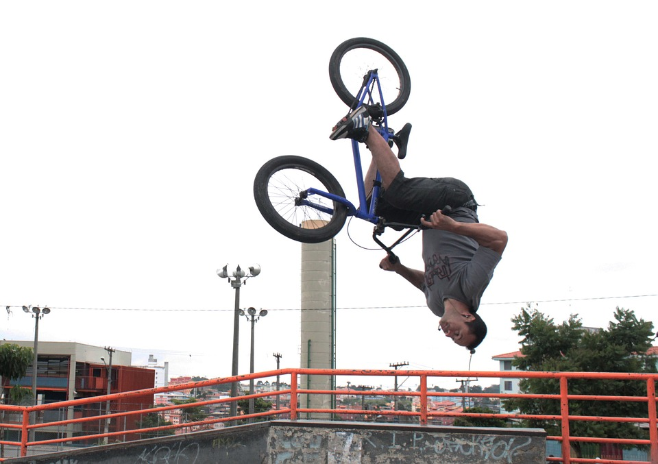 bike, looping, bmx