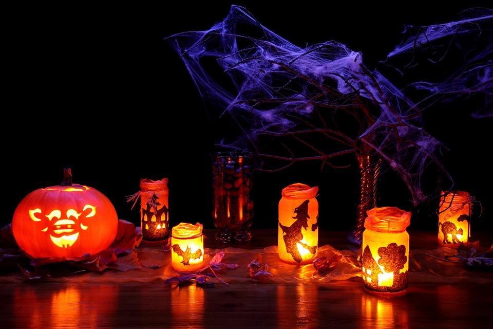 dark, decoration, fall