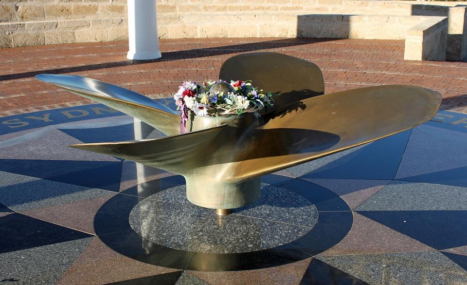 geraldton, memorial, propeller