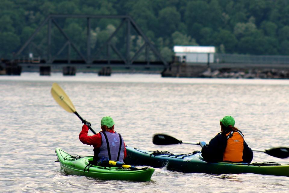 kayak, kayaker, boat
