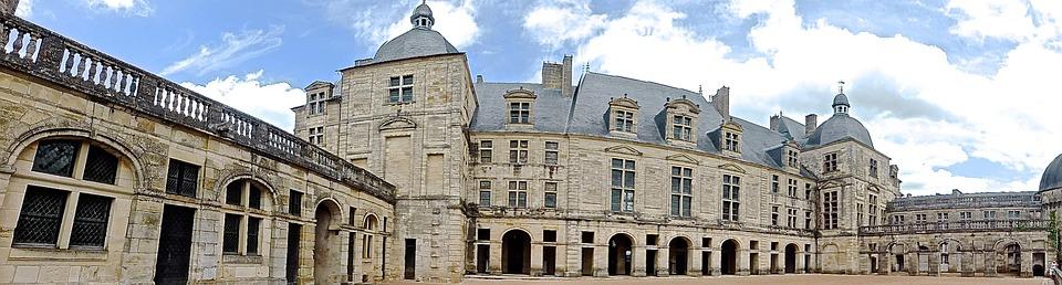 hautefort, chateau, france