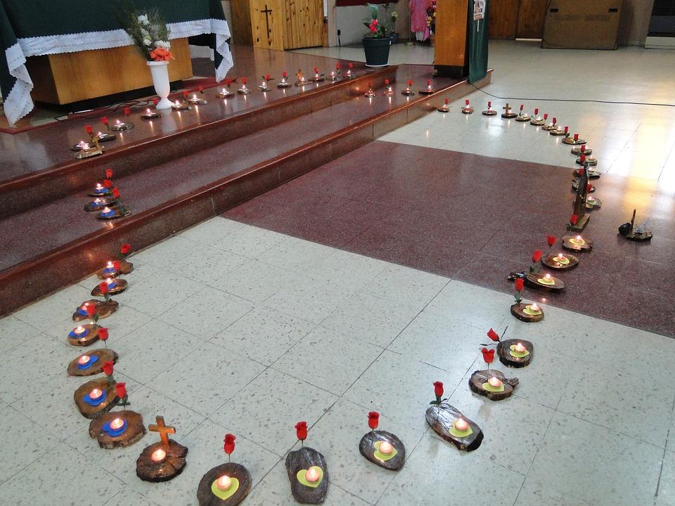 catholic, church, holy rosary