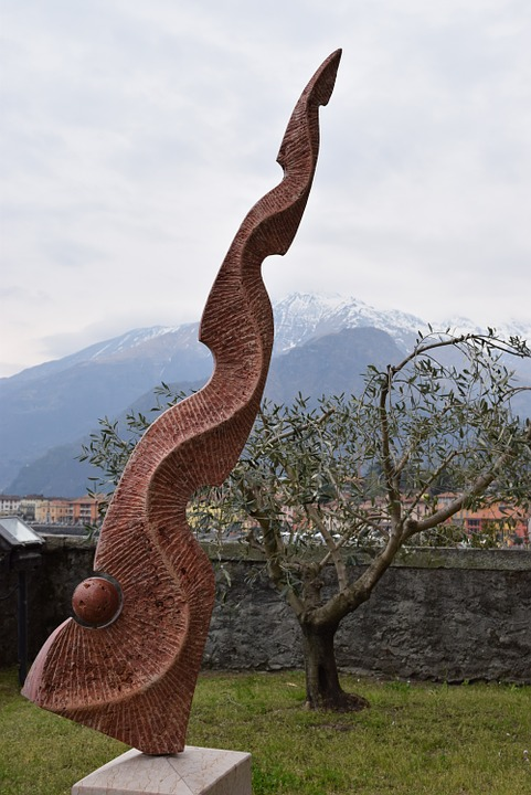 sculpture, stone, stone sculpture