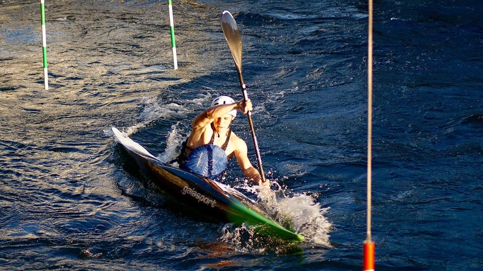 kayak, white water, water sports