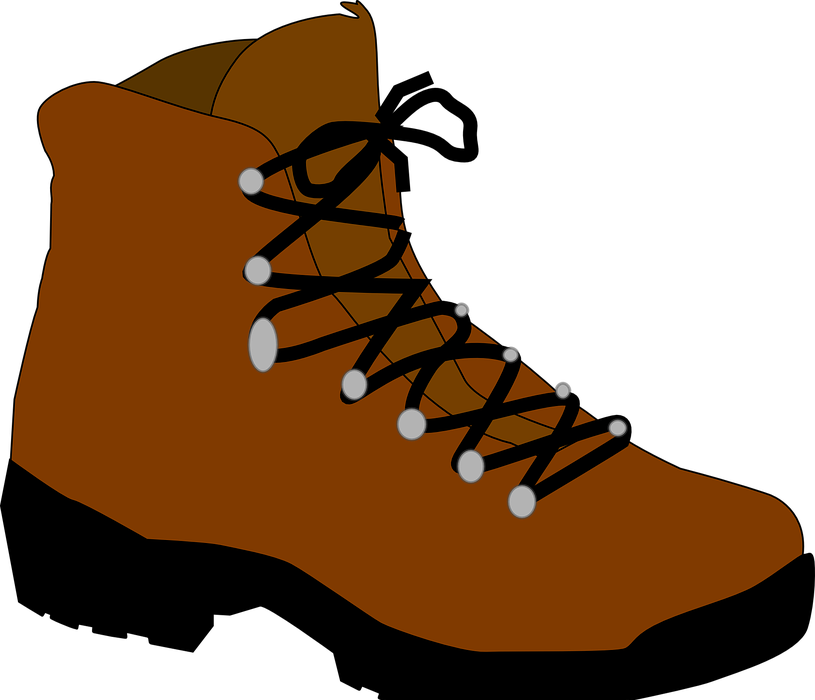hiking boot, shoes, winter