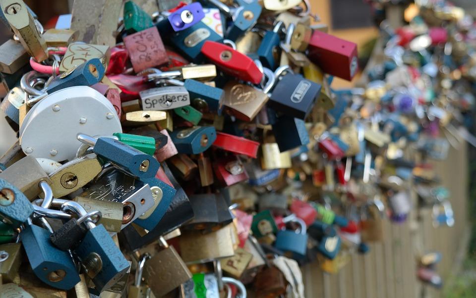 lock, love, padlock