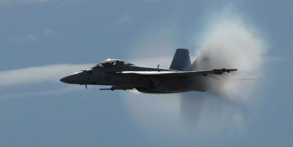 military jet, flight, flying