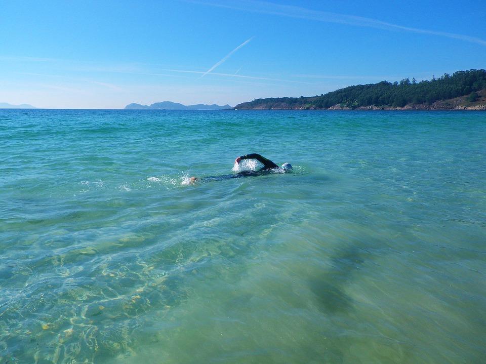 sport, swimming