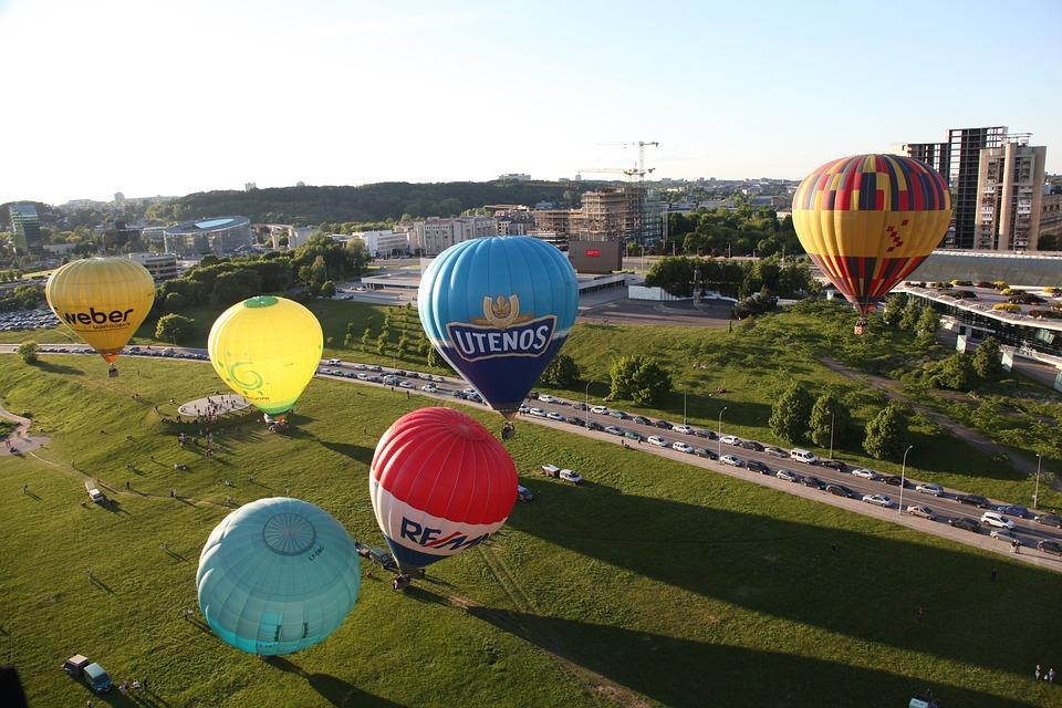 tourism, air, balloon