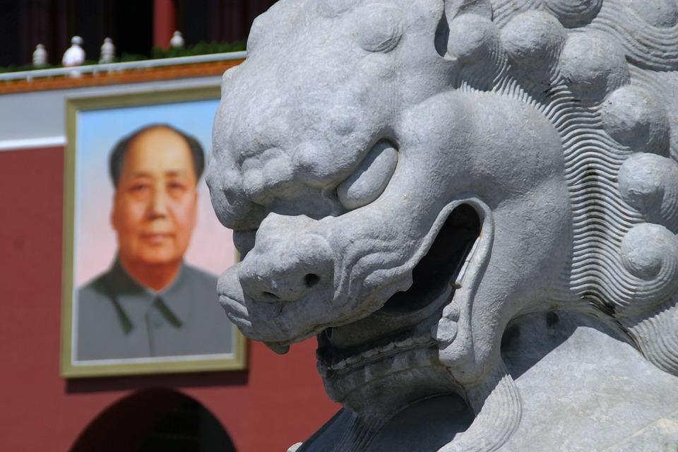 sculpture, dragon, monster