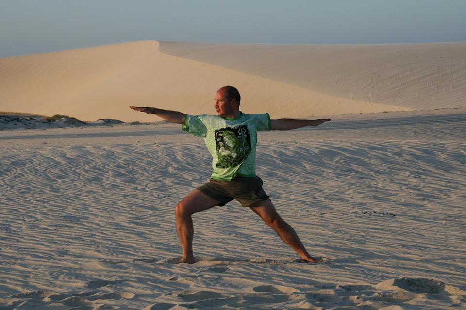 yoga, assana, jericoacoara