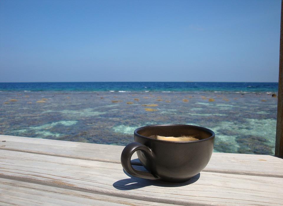 coffee, honeymoon, maldives