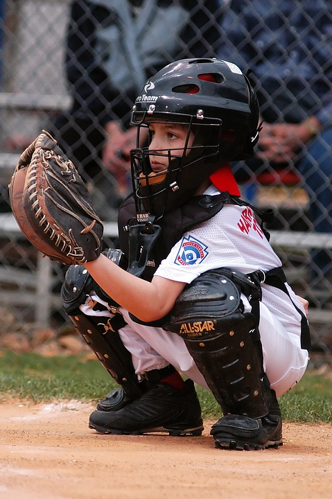 baseball, catcher, little league