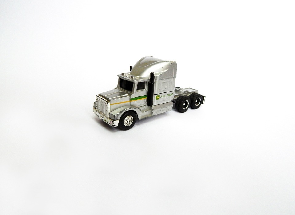 toy, truck, miniature