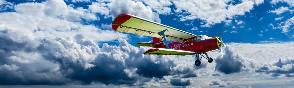 aircraft, propeller, wing