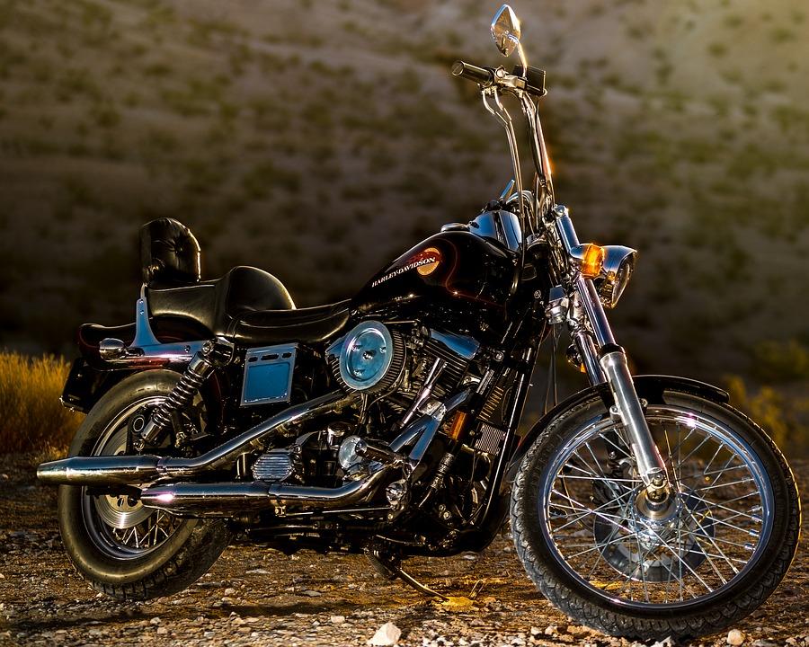 motorcycle, harley, motor