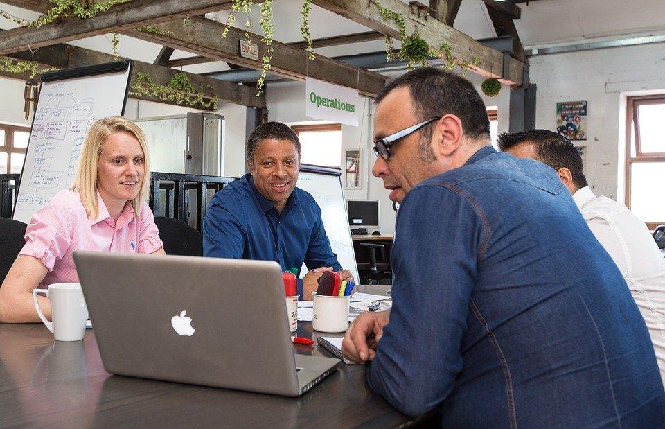 meeting, informal, business