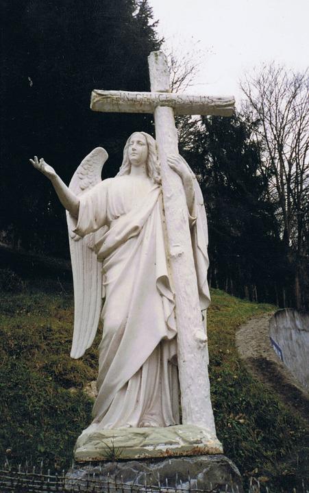angel, lourdes, catholic