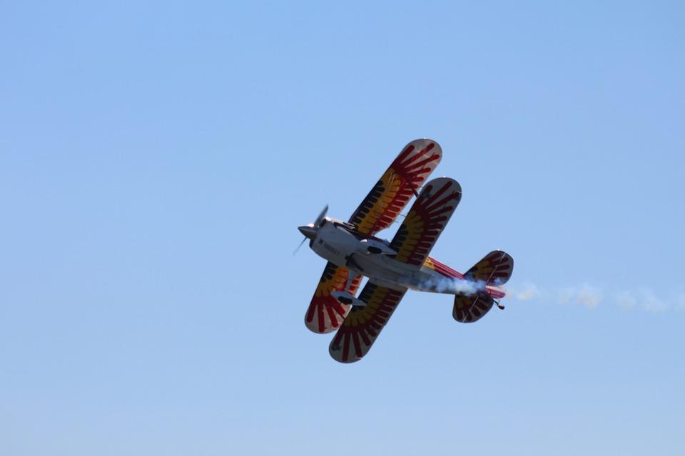 air show, aircraft, plane