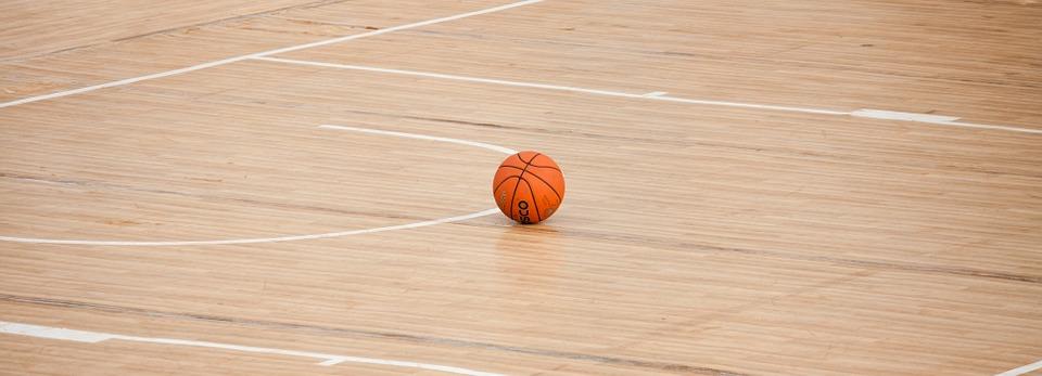 basketball, court, ball