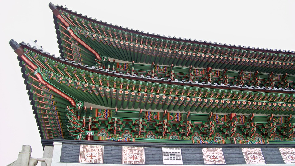 korea, seoul, temple