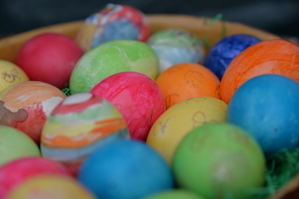 easter, easter eggs, easter bunny